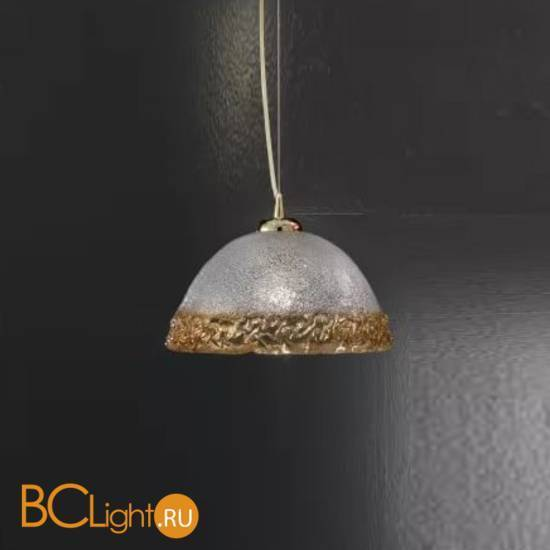Подвесной светильник Vetri Lamp 1158/32 Cristallo/Ambra