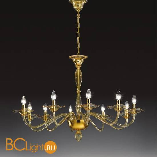Люстра Vetri Lamp 1186/10 Yellow