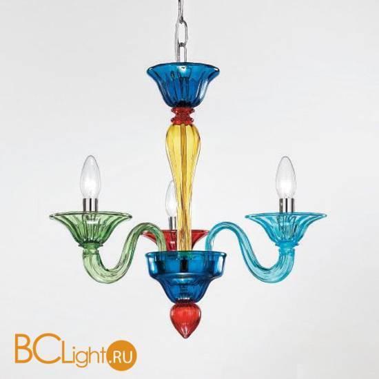 Люстра Vetri Lamp 1191/3M Multicolor