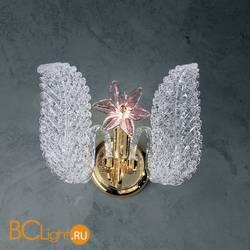 Бра Vetri Lamp 142/A Cristallo/Rosa
