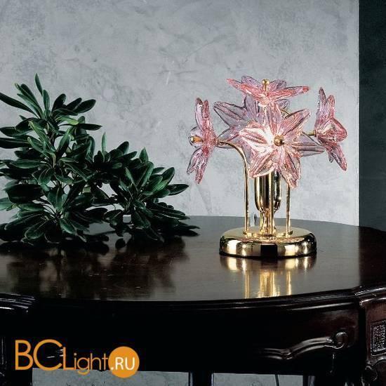 Настольная лампа Vetri Lamp 142/L Cristallo/Rosa