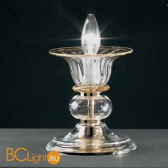 Настольная лампа Vetri Lamp 301/L Cristallo/Ambra