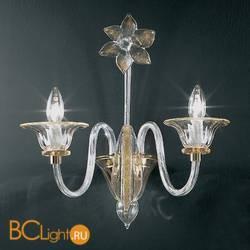 Бра Vetri Lamp 301/A2 Cristallo/Ambra