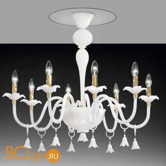 Потолочная люстра Vetri Lamp 894/8PL Bianco