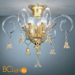 Потолочный светильник Vetri Lamp 90/PL Cristallo/Oro