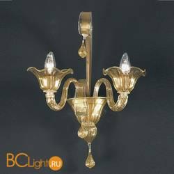 Бра Vetri Lamp 907/A2 Oro 24Kt