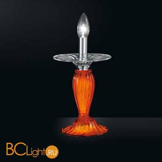 Настольная лампа Vetri Lamp 924/L Arancio/Cristallo
