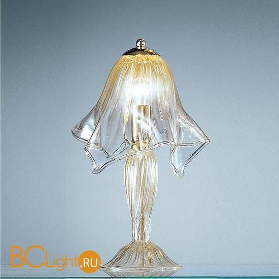 Настольная лампа Vetri Lamp 93/L22 Cristallo/Oro