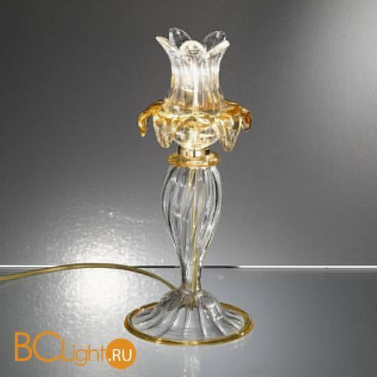 Настольная лампа Vetri Lamp 94/L Cristallo/Ambra