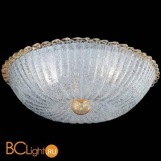 Потолочный светильник Vetri Lamp 960/60 Cristallo/Oro 24 Kt.