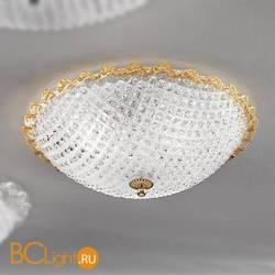 Потолочная лампа Vetri Lamp 991/40 Cristallo/Ambra
