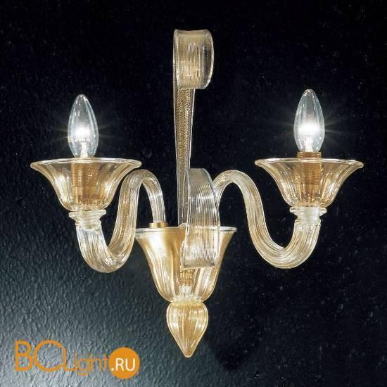 Бра Vetri Lamp 993/A2 Oro 24Kt