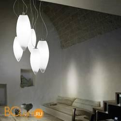 Подвесной светильник Vistosi Baco SP 5 E27 BC/SF NI