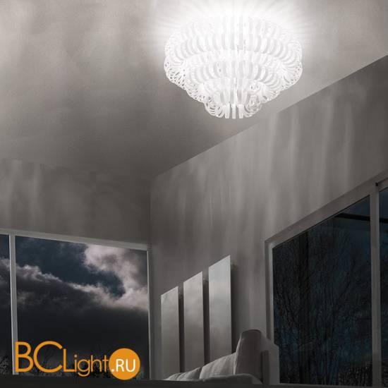 Потолочный светильник Vistosi Ecos PL 60A E27 BC CR