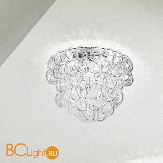 Потолочный светильник Vistosi Giogali PL 35 E14 CR/TR CR