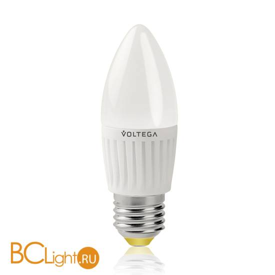 Лампа Voltega E27 LED 6.5W 2800K 600Lm VG1-C2E27warm6W-C 5717