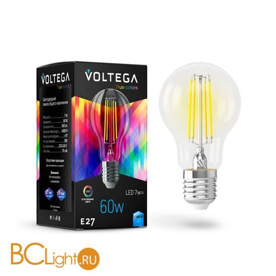 Лампа Voltega E27 LED 7W High CRI 560Lm 4000K VG10-A60E27cold7W-FHR 7155