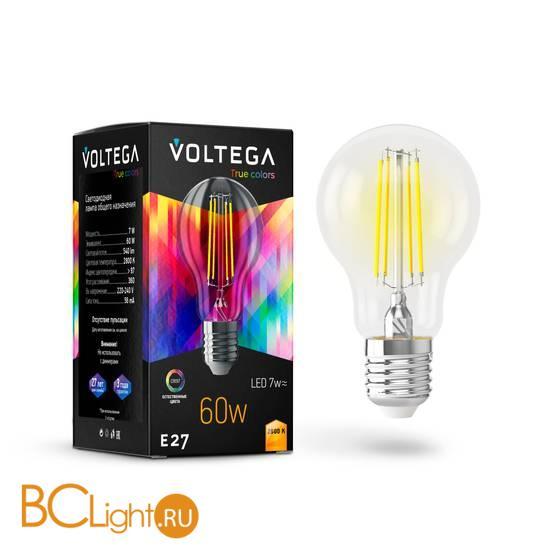 Лампа Voltega E27 LED 7W High CRI 540Lm 2800K VG10-A60E27warm7W-FHR 7154