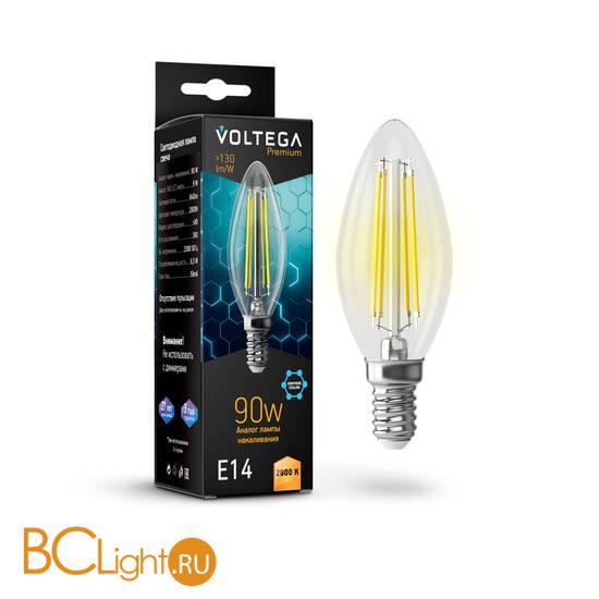 Лампа Voltega E14 LED 6.5W Graphene 840Lm 2800K VG10-C35E14warm9W-F 7134