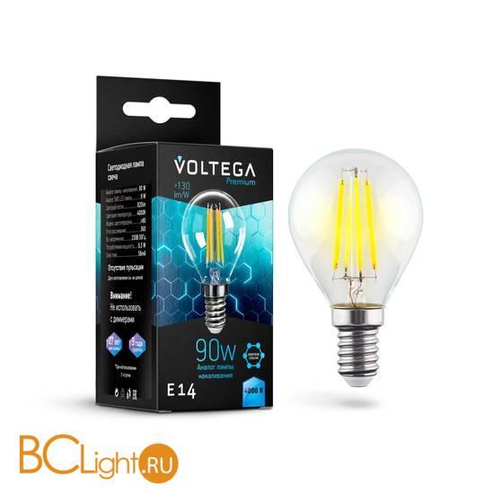Лампа Voltega E14 Globe LED 6.5W Graphene 820Lm 4000K VG10-G45E14cold9W-F 7137