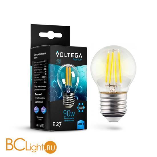 Лампа Voltega E27 Globe LED 6.5W Graphene 820Lm 4000K VG10-G45E27cold9W-F 7139