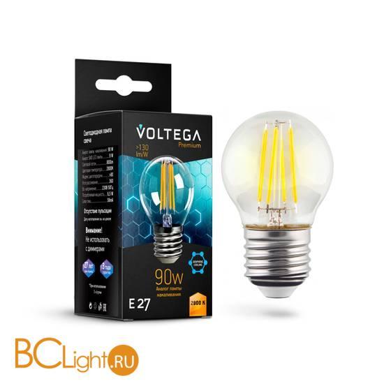 Лампа Voltega E27 Globe LED 6.5W Graphene 800Lm 2800K VG10-G45E27warm9W-F 7138