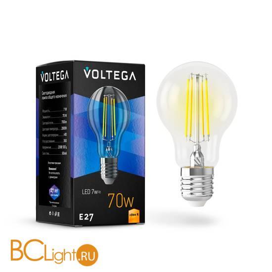 Лампа Voltega E27 LED 7W 700Lm 2800K VG10-A60E27warm7W-F 7140