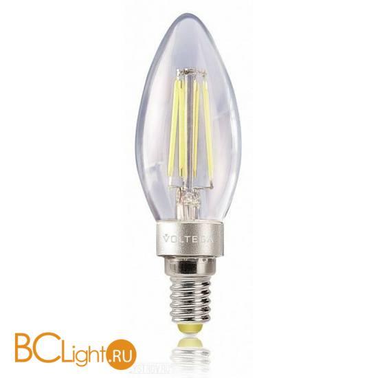 Лампа Voltega E14 LED 4W 400Lm 2800K VG1-CС1E14warm4W-F 4672
