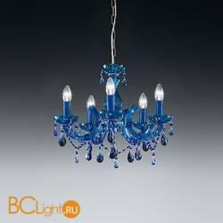 Люстра Voltolina Vienna 5L Cromo Blu